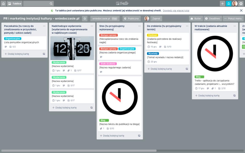 Trello to świetna aplikacja do zarządzania zadaniami
