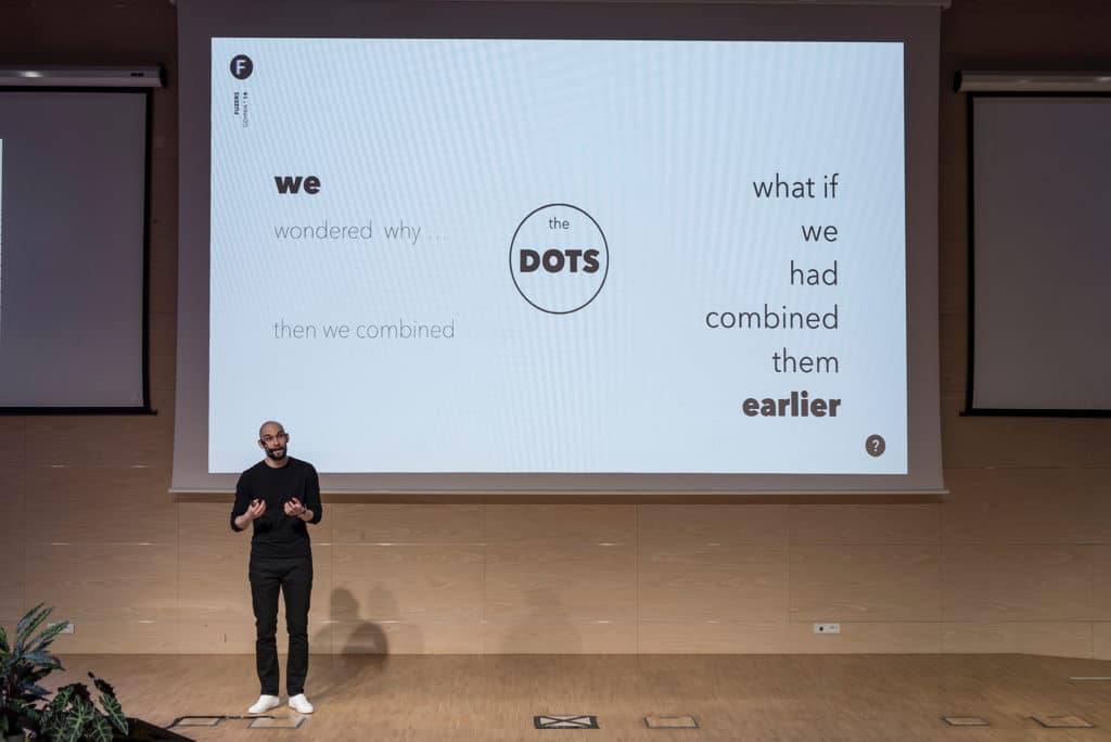 Krzysztof Ożóg - Design Talks Business / materiały organizatora