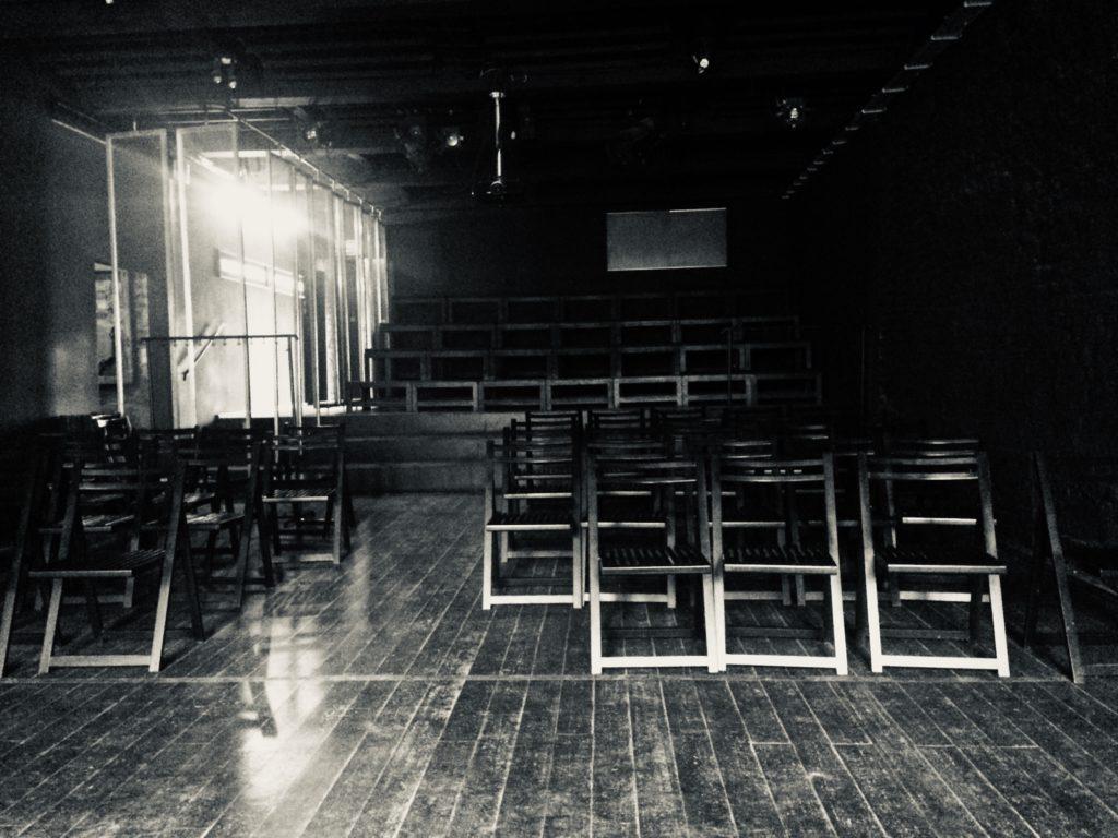 """Sala czarna w Ośrodku """"Brama Grodzka - Teatr NN"""""""