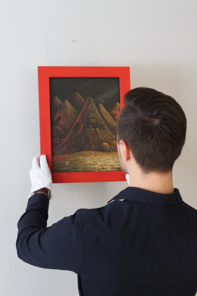 Kolekcjoner sztuki - Łukasz Wiącek